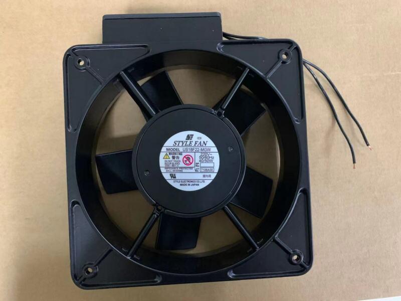 for STYLEFAN US18F22-MGW AC220V Japan 18CM Full Metal Heat Resistant Fan