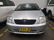 Toyota Corolla 03 manual hatch.                        Mannering Park Wyong Area Preview
