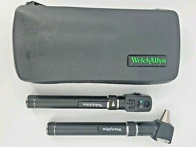 Welch Allyn 2.5v Pocketscope Diagnostic Set - Otoscope Ophthalmoscope W Case