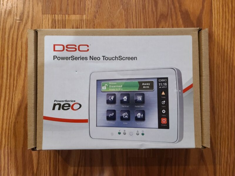 DSC PowerSeries Neo TouchScreen