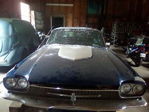 1966 thunderbird for restoring with extra car for parts