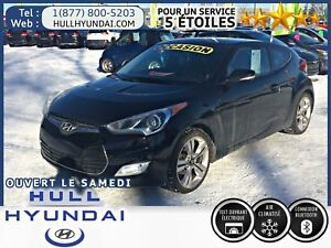 2014 Hyundai Veloster Tech, GPS, MAGS, Toit Ouvrant! WOW