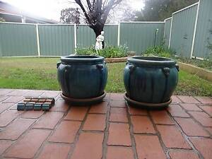 Two large ceramic garden pots Mudgee Mudgee Area Preview
