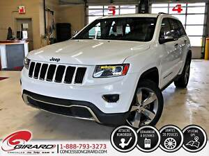 2014 Jeep Grand Cherokee LIMITED*TOIT*MAGS 20''*NAVIGATION*ENS.