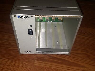 National Instruments Ni Scxi-1000dc 4 Slot Chassis
