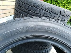Dunlop winter tire 225/55 R17 made in Japan