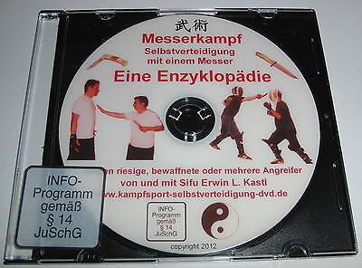 Messerkampf Messerabwehr DVD Selbstverteidigung mit einem Messer Kampfsport