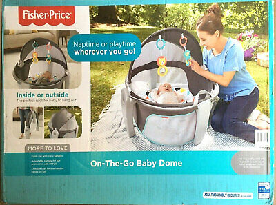 Fisher-Price On-the-Go Baby Dome - Windmill