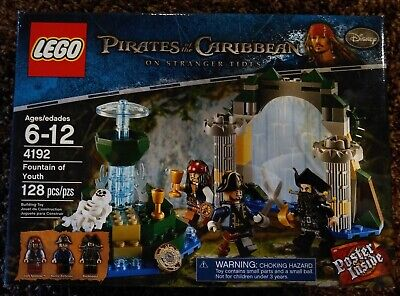 LEGO 4192 Pirates of the Caribbean Fountain of Youth, Retired, New, Sealed.