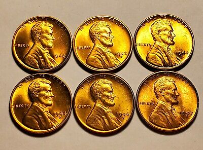 1947 S Lincoln Wheat Penny 10/% off 6+