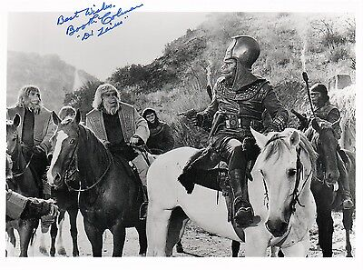 OFFICIAL WEBSITE Booth Colman (1923-2014) Planet of the Apes 8x10 AUTOGRAPHED