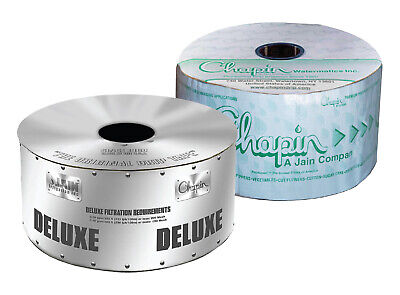 Chapin Deluxe 5/8 Drip Tape Irrigation Line Soaker Hose 12