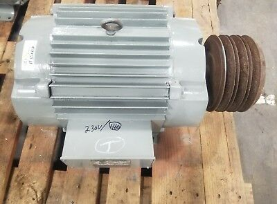 Us Motors R-8592-00-842 15 Hp 254t Electric Motor 1750 Rpm 3568sr
