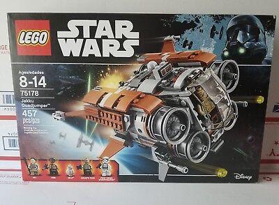 LEGO Star Wars Jakku Quadjumper Set 75178 The Force