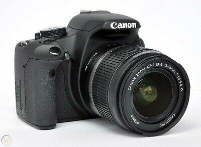 Canon EOS Rebel T1i EOS 500D 15.1MP Digital SLR Camera Kit w/ 18-55mm Lens