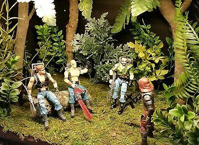 gi joe forest diorama