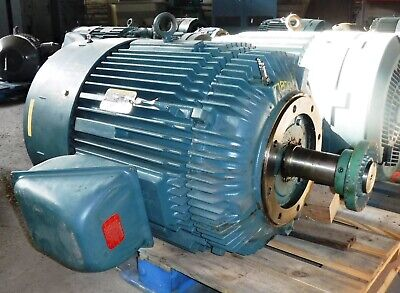 100 Hp Baldor Reliance Electric Motor 1800 Rpm 405tc Frame Tefc 460 V