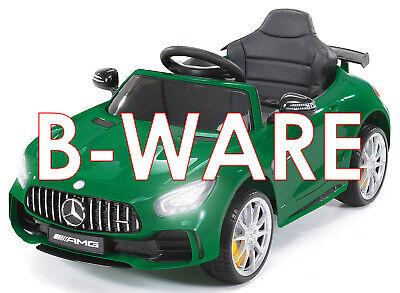 B-Ware Kinder Elektro Auto Mercedes GT-R Lizenz Kinderauto Elektroauto gebraucht