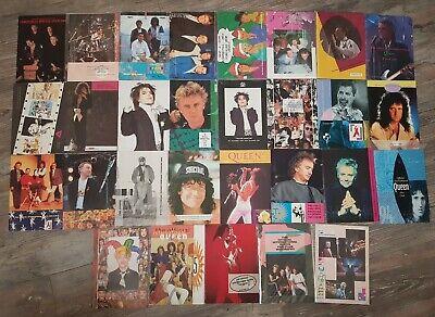 QUEEN Official Fan Club Magazines lot & Xmas card 1982 - 1995 Freddie Mercury