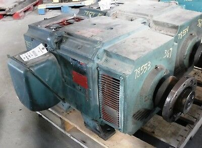 75 Hp Dc Reliance Electric Motor 1750 Rpm Bb367atz Frame Dpfv 240 V