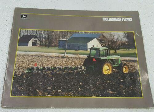 John Deere Moldboard Plow For 1986 Dealers Sales Brochure Models/Specifications