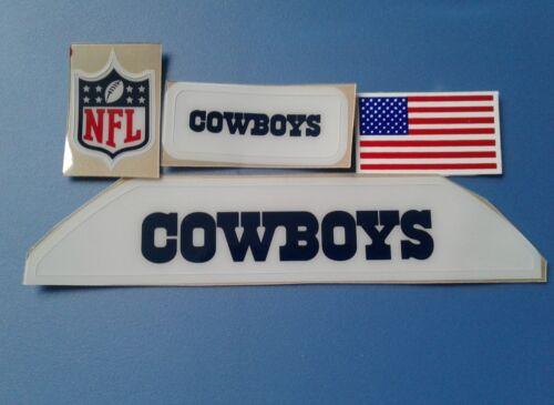 Dallas Cowboys VSR4  bumpers helmet decal set