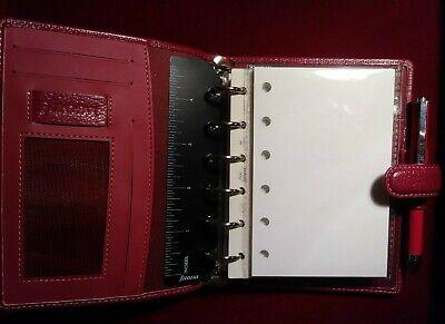 50 Plain White Refills For Filofax Pocket Organizers With 6 Holes