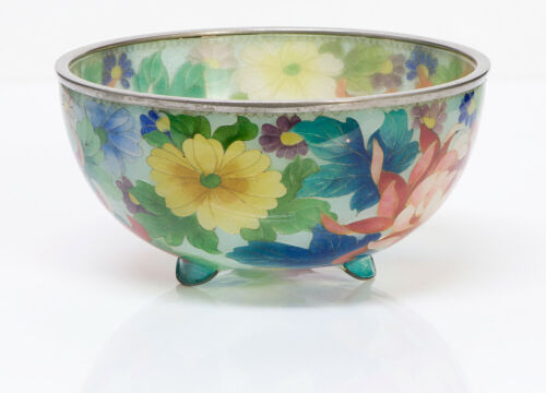 Antique Japanese Plique-a-Jour Cloisonne Bowl
