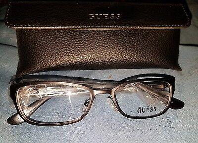 Guess GU2515 002 Matte Black Womens Eyeglasses Size 50-16-135 (New)