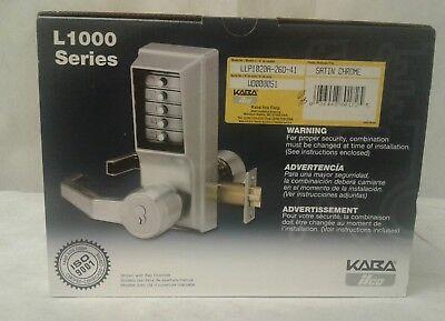 Kaba Ilco Simplex Mechanical Exit Trim Code Lock Satin Chrome Llp1020a-26d-41