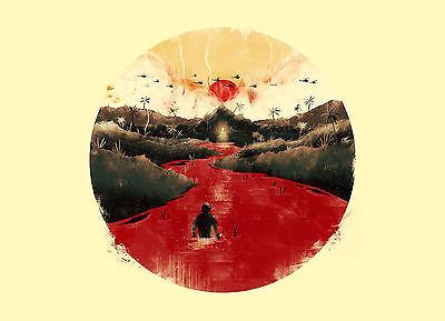 Gerahmter Druck - Vietnam Depiction (Bild Us-Armee Krieg Kunst Armee USA Us-armee Bilder