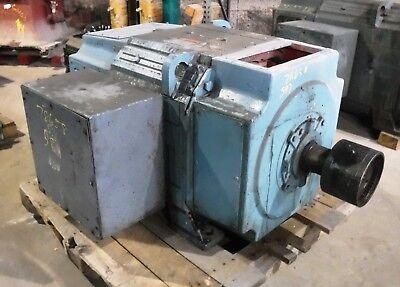 75 Hp Dc Reliance Electric Motor 300 Rpm B587atz Frame Dpfv 500 V