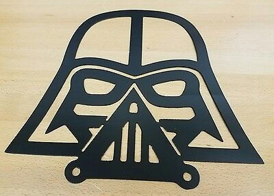 Darth Vader Metal wall art plasma cut decor star wars gift idea - Star Wars Decoration Ideas