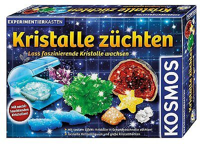 Kosmos Kristalle Züchten Mineralogie Chemie Experimentieren und Forschen Spielze