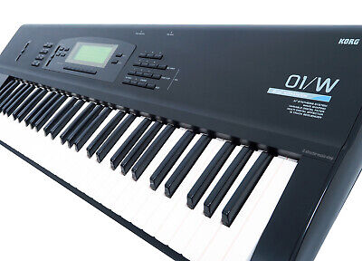 KORG 01/W Music Workstation Klassiker 61 Key Synthesizer m1 01W Rechng + GEWÄHR! segunda mano  Embacar hacia Mexico