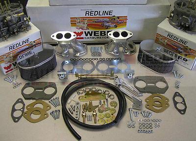 Weber Carburetor Kit VW Bug & Type 1 Dual 40 IDF - tuned for VW air cooled - Bug Kit