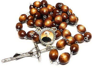St John Bosco Braun 3. Relic Rosenkranz Editors Publishers, Kinder Junge Ppl ()