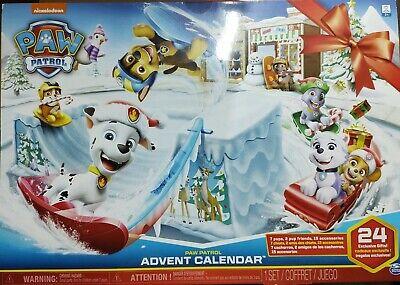 NEW PAW PATROL Advent Calendar 24 days of Surprises
