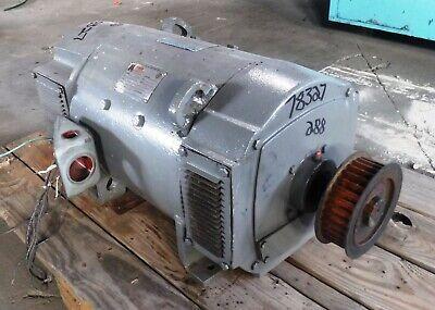 15 Hp Dc Geneal Electric Motor 1150 Rpm 288at Frame Dpfv 500 V