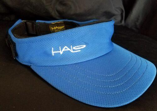 Halo Headband Sweatband Sport Visor - Royal Blue