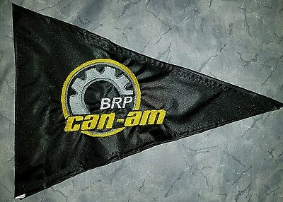 Custom Triangle can-am BRP ATV Safety Replacement Whip Flag. Great 4 Jeep UTV  (Atv Safety Flag)