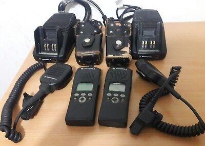 Lot Of 2 Motorola Xts2500 Model Ii Portable Radio 700800 Mhz