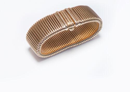 Vintage Cartier Tubogas Gold Bracelet