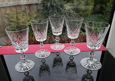 4 EXCEPTIONAL VINTAGE WINE GOBLETS GLASSES COCKTAIL GIN &TONIC WATER TRENDING