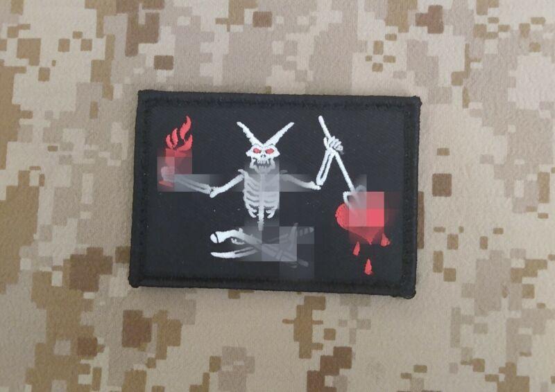 NSW SEAL Team 7, Troop old Blackbeard/Blackheart patch NSWDG