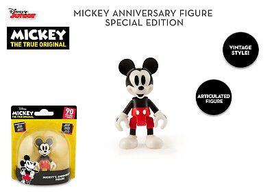 NEW Disney Original Special Edition Mickey Mouse 90th Anniversary 8cm Figure