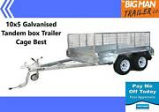 10x5 tandem trailer GVM2000KG Hot dip galvanised Moorabbin Kingston Area Preview