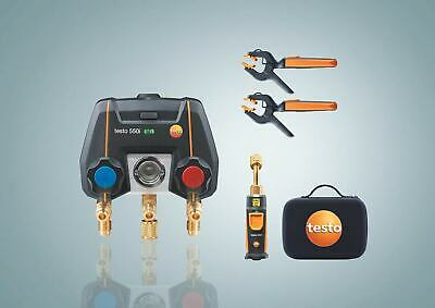 Testo 550i Smart Kit With 552i Vacuum Probe And Two 115i Temperature Probes Par