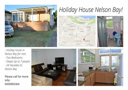 Holiday House available in Nelson Bay!