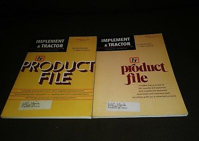 Implement Tractor Product File 1972 1973 Farm Equipment Magazine